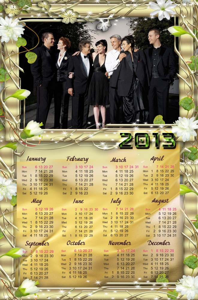 Mes calendriers 2013 Ncis-110
