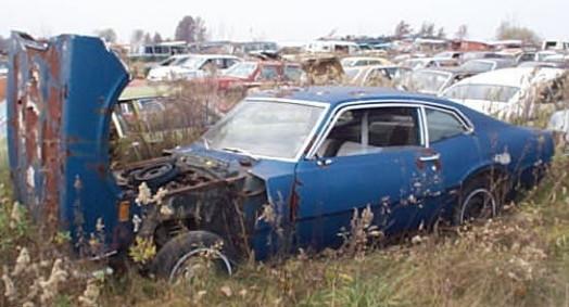 Vieux véhicule laids 70mav10