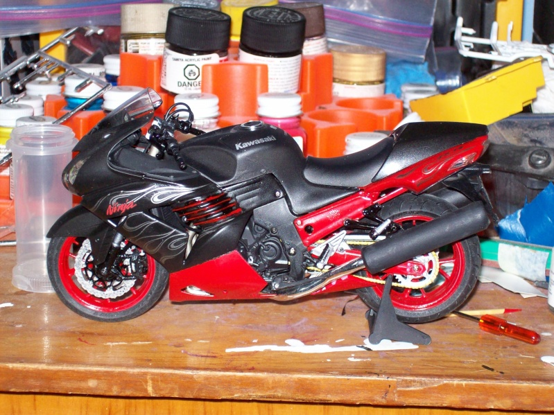 Ninja zx-14 special color Bike_014