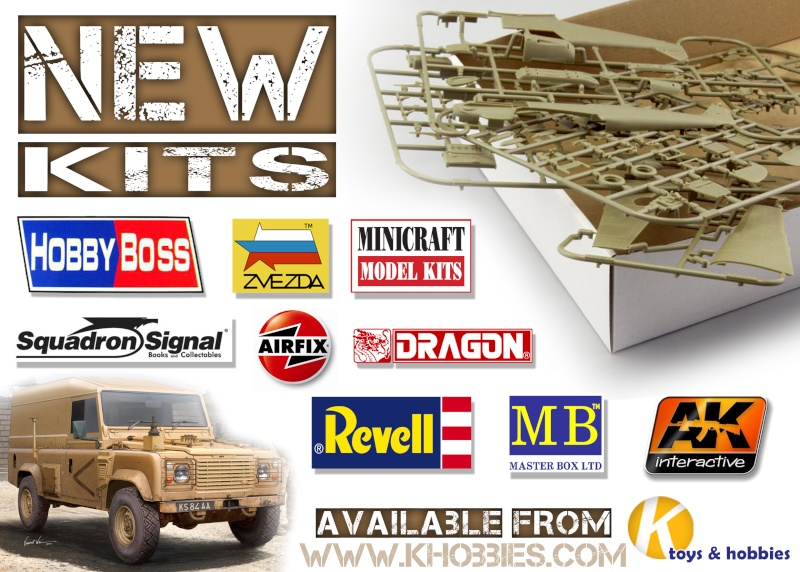 New Kits in stock from K Hobbies !! Creati10
