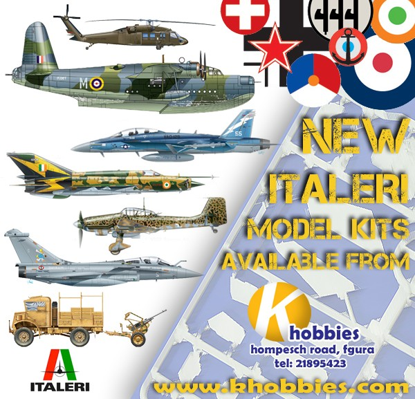 NEW Italeri Model Kits now in stock from K Hobbies Ltd. !! Ita_oc10