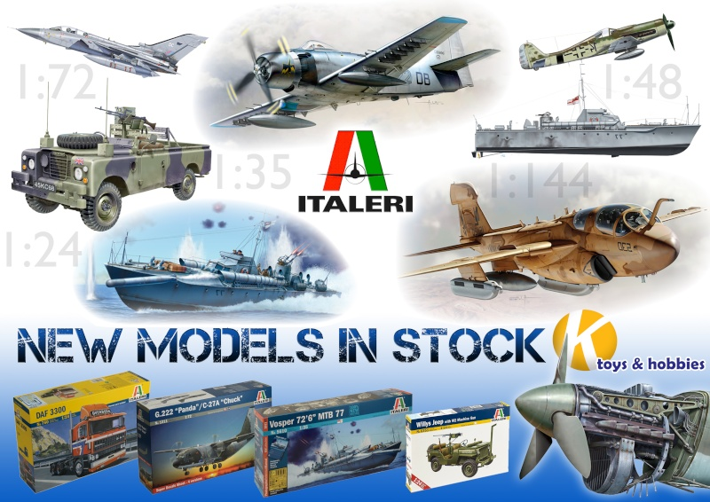 New Italeri Model Kits in stock from K Hobbies <<<<<<<<<<<<<<< Italer11