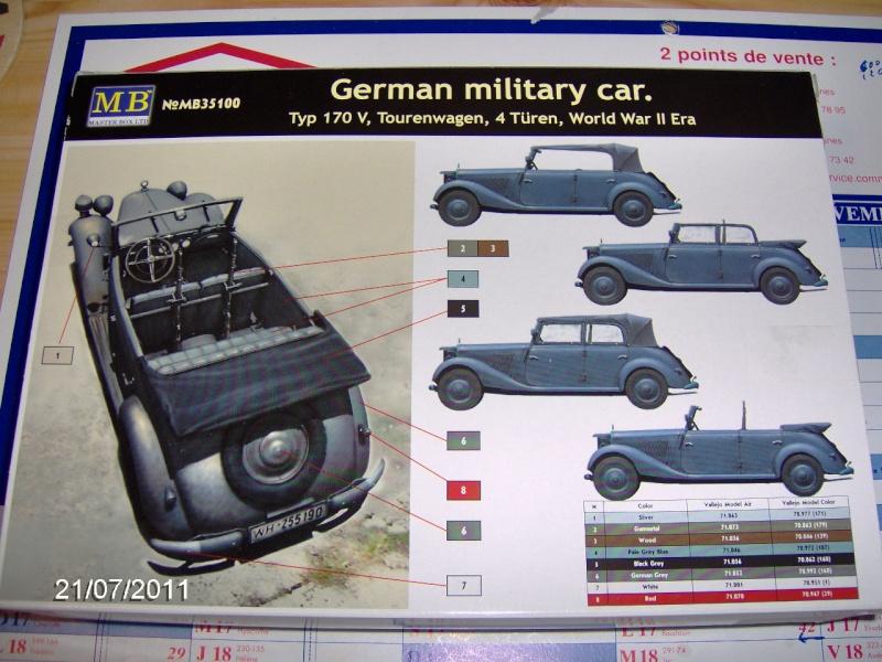 German military car .Master Box German10