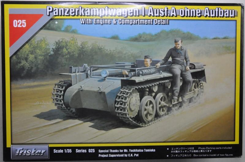 Panzerkampfwagen 1 ausf.A ohne Aufbau [Tristar, 1/35] Panzer10