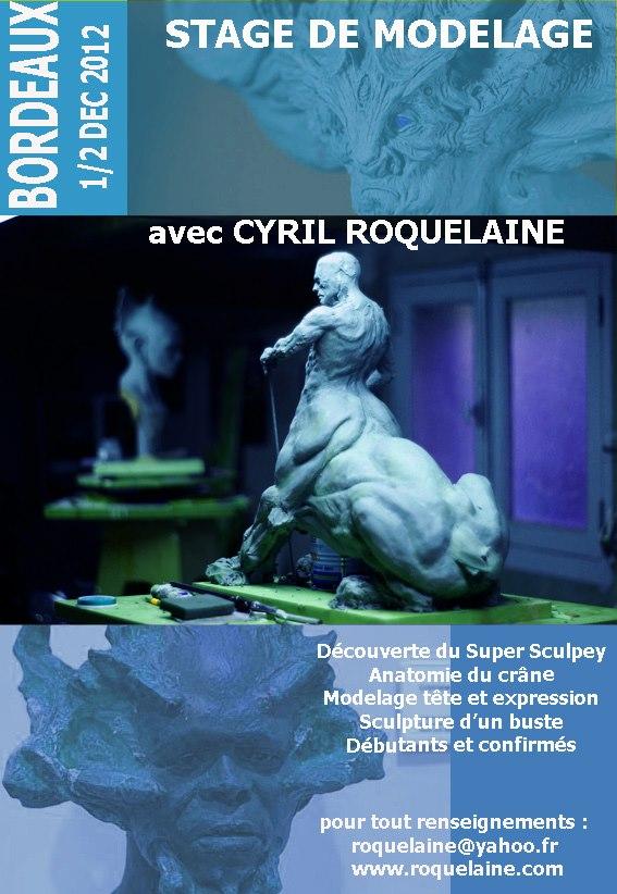 Stages de sculpture avec Cyril Roquelaine  69192_10