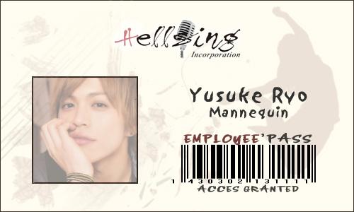 Regarde une feuille de personnage Yusuke10