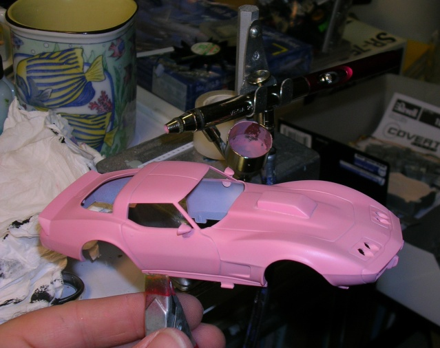 "Corvette 1978 1/32 ""Pink Lady"" Octobr10"