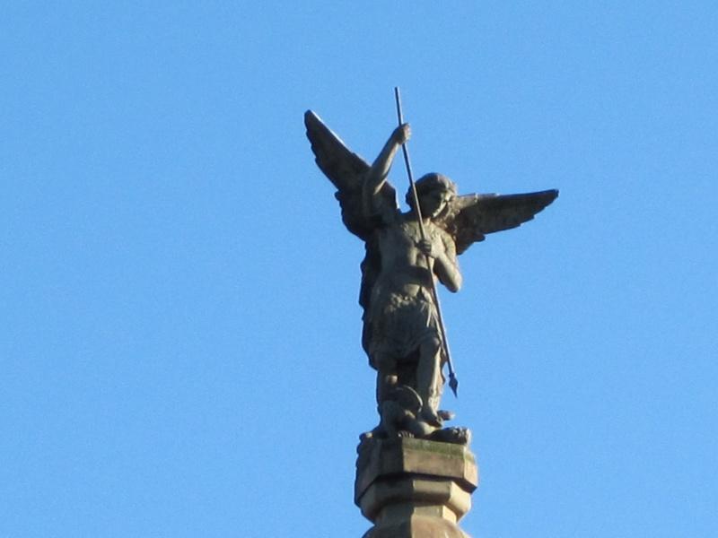 Notre saint Patron: l'Archange Saint MICHEL en Normandie Img_0910