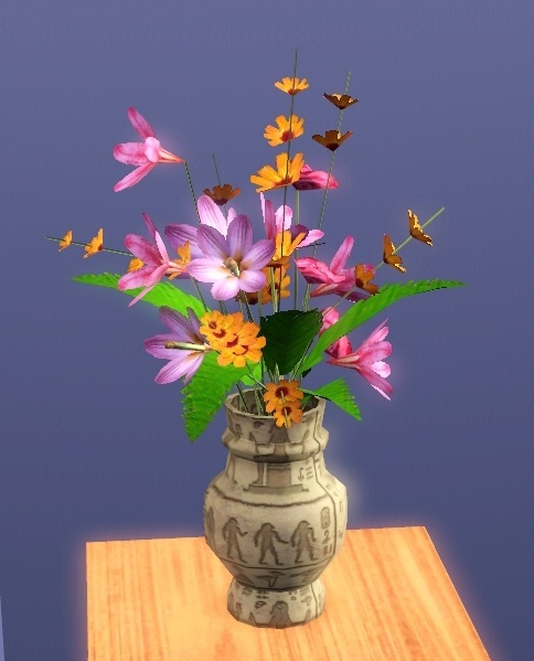 3DMAX Tutorial jarrón con flores Florer10