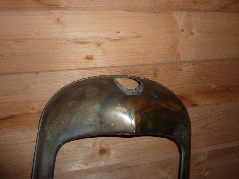 Parts for radiator cap (piece pour calandre) 111