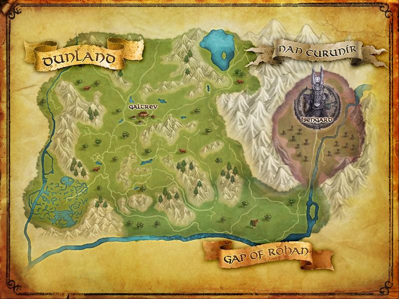 Carte de L'Isengard 11111110