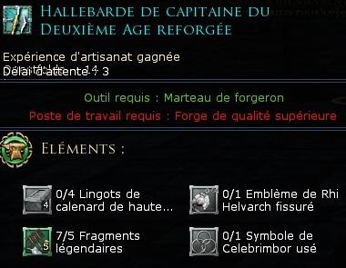 Les objets légendaires & reliques 611