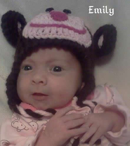 My granddaughter Emily turned 1 today Emilyh11