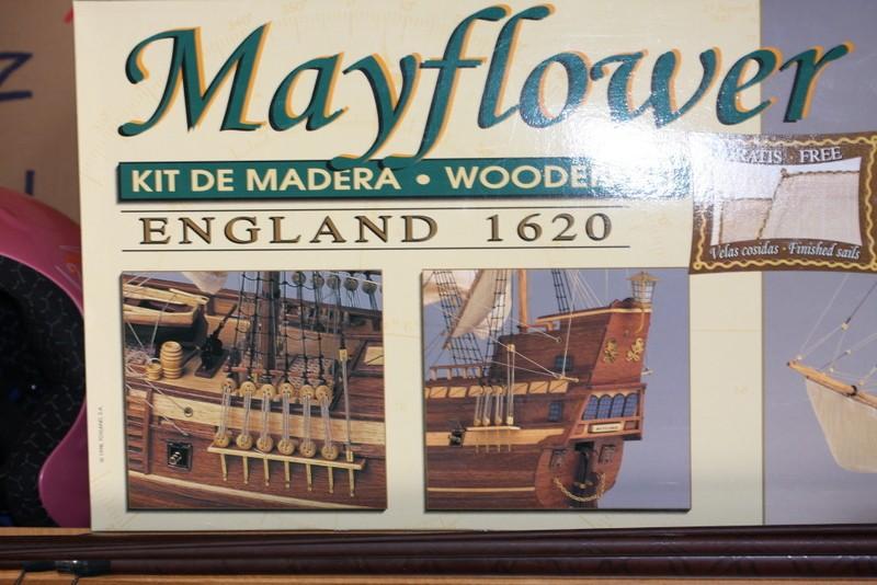 le mayflower au 1/65 ème 00211