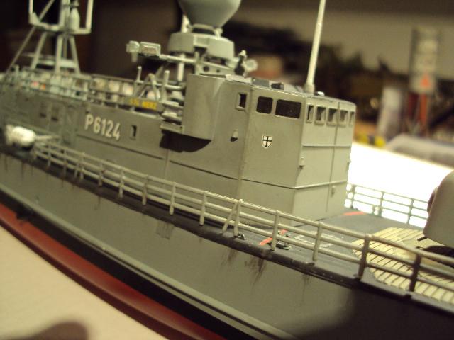 Schnellboot der Gepard-Klasse 143 A von Revell in 1/144 Authen10