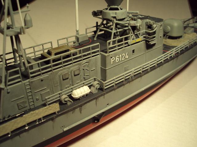 Schnellboot der Gepard-Klasse 143 A von Revell in 1/144 Authen11