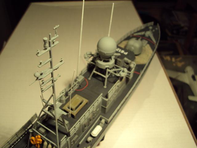 Schnellboot der Gepard-Klasse 143 A von Revell in 1/144 Authen16