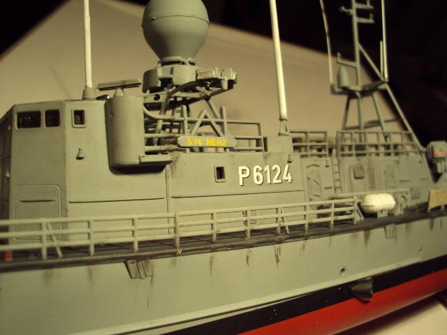 Schnellboot der Gepard-Klasse 143 A von Revell in 1/144 Authen17