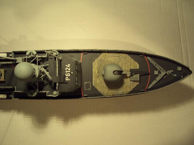 Schnellboot der Gepard-Klasse 143 A von Revell in 1/144 Authen18