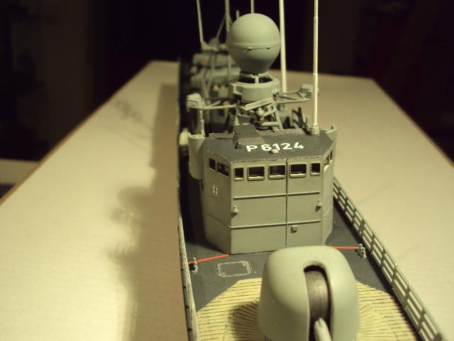 Schnellboot der Gepard-Klasse 143 A von Revell in 1/144 Authen20