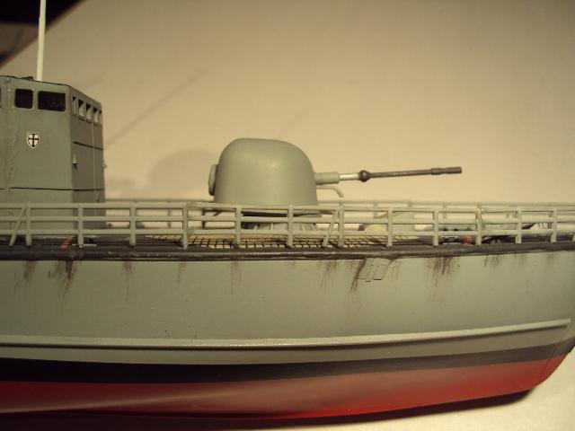 Schnellboot der Gepard-Klasse 143 A von Revell in 1/144 Authen21