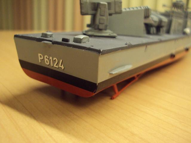 Schnellboot der Gepard-Klasse 143 A von Revell in 1/144 Jaguar19