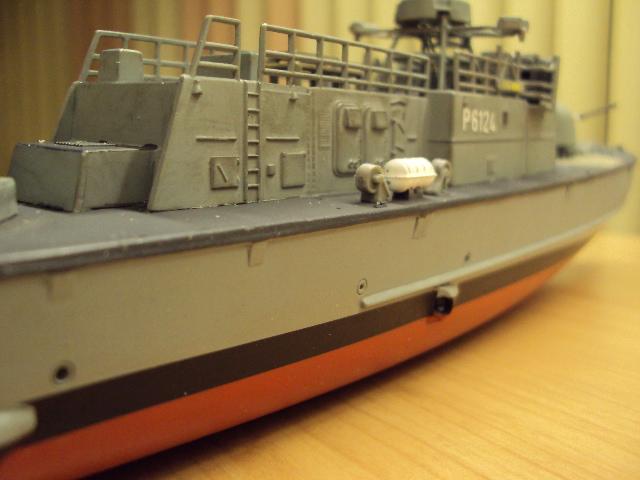 Schnellboot der Gepard-Klasse 143 A von Revell in 1/144 Jaguar21