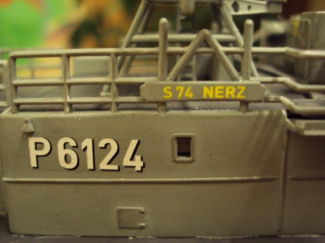 Schnellboot der Gepard-Klasse 143 A von Revell in 1/144 Jaguar26