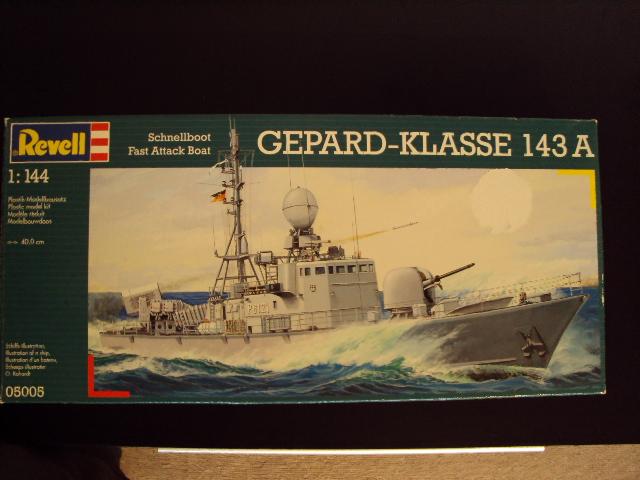 Schnellboot der Gepard-Klasse 143 A von Revell in 1/144 U-boot48
