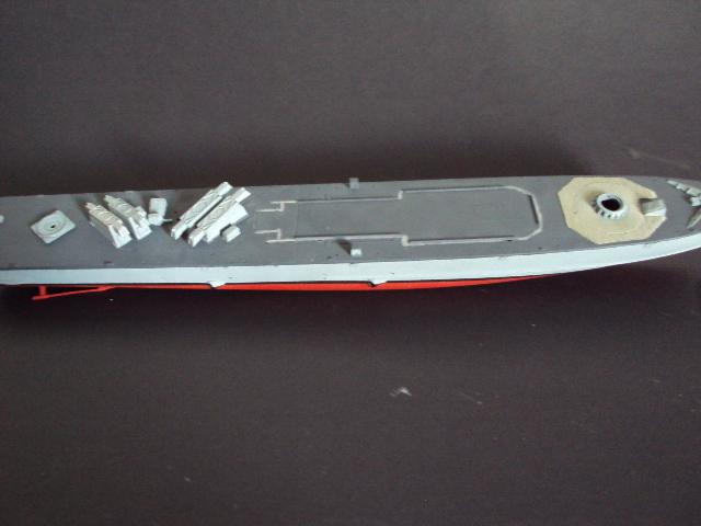 Schnellboot der Gepard-Klasse 143 A von Revell in 1/144 U-boot56