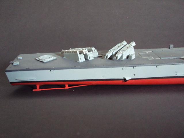 Schnellboot der Gepard-Klasse 143 A von Revell in 1/144 U-boot57