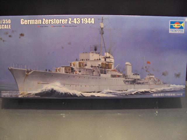 Zerstörer Z-43 von Trumpeter 1/350 Zersta27