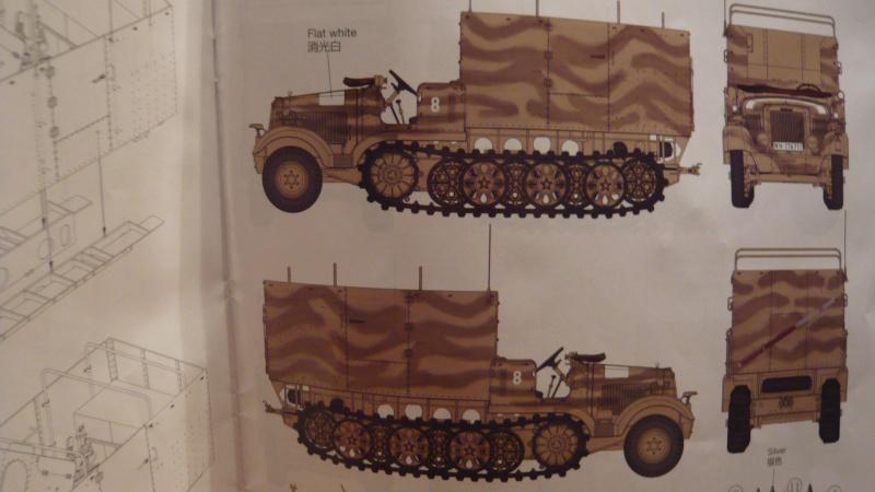 "Zugkraftwagen 5t"" Diana""(Sd.Kfz.6/3) mit erbeuteter russ. M1936 7,62cm PaK P1080240"
