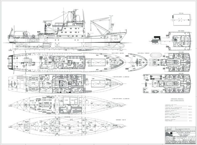 OGS  EXPLORA  Ein Forschungsschiff M 1: 100, nicht von Pappe  Image010