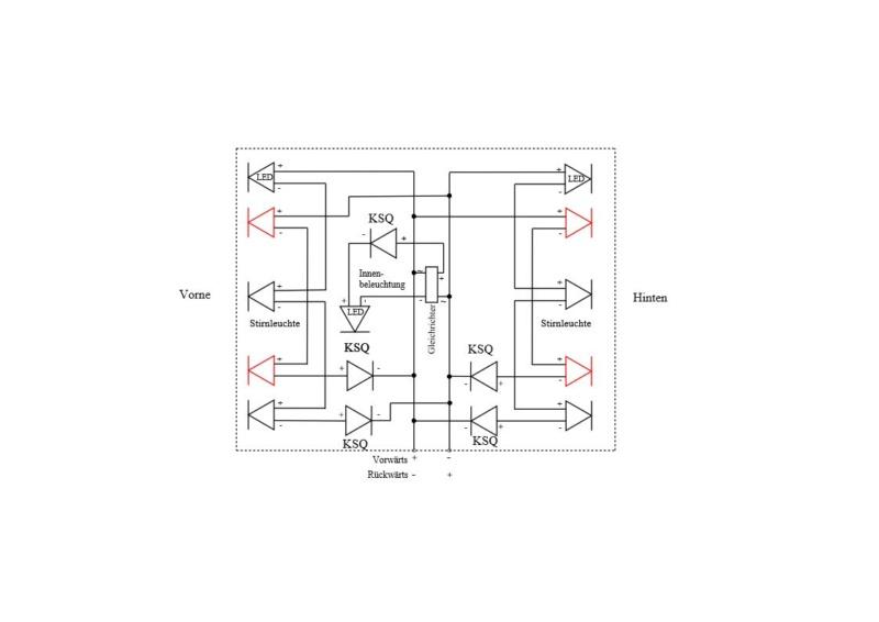LED-Schaltung Lokbel11