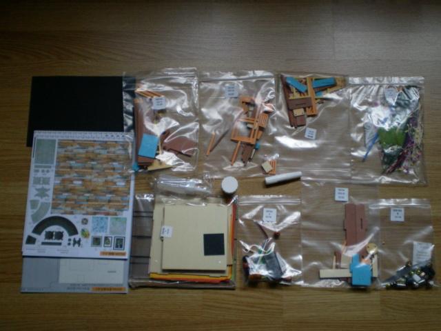Modell-Gewächshaus von DIY HOUSE Sany1172