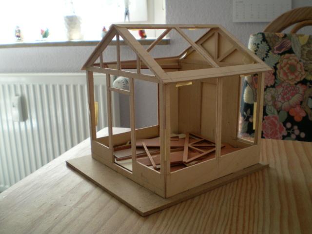 Modell-Gewächshaus von DIY HOUSE Sany1226