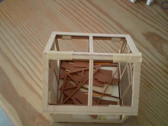 Modell-Gewächshaus von DIY HOUSE Sany1228