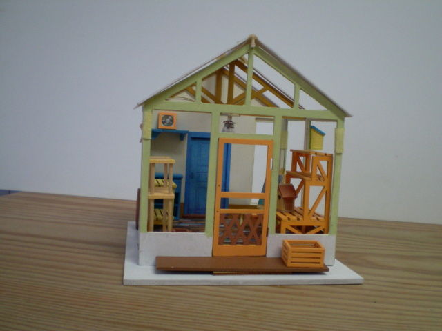 Modell-Gewächshaus von DIY HOUSE Sany1229