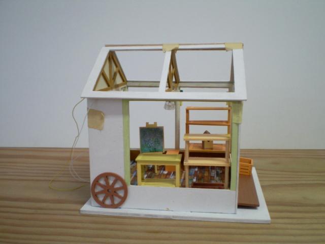 Modell-Gewächshaus von DIY HOUSE Sany1230