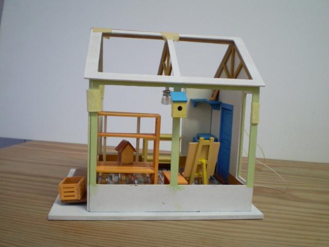 Modell-Gewächshaus von DIY HOUSE Sany1231