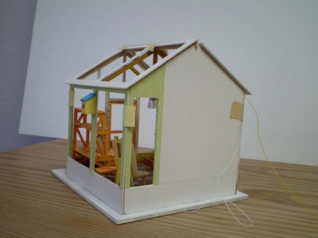 Modell-Gewächshaus von DIY HOUSE Sany1232