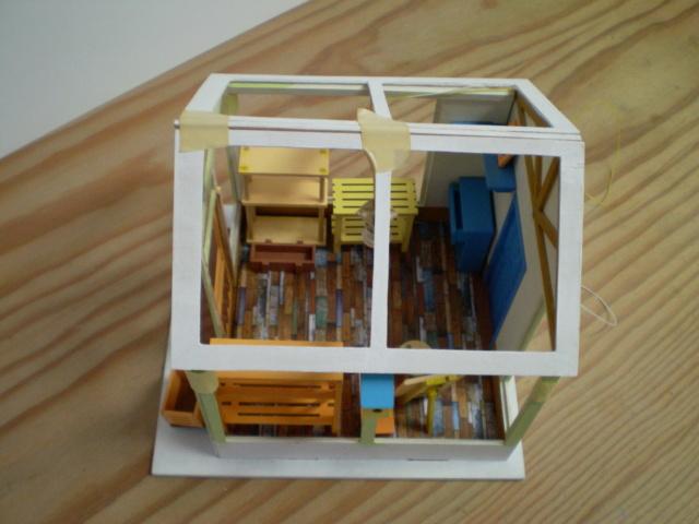 Modell-Gewächshaus von DIY HOUSE Sany1233