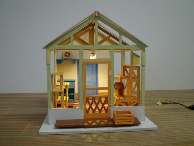 Modell-Gewächshaus von DIY HOUSE Sany1234