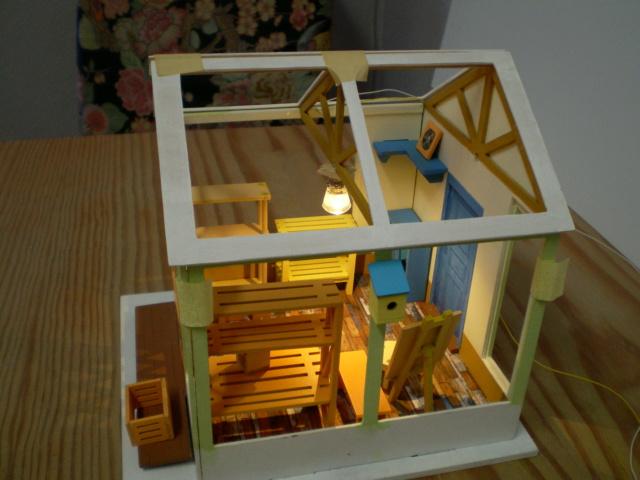 Modell-Gewächshaus von DIY HOUSE Sany1235