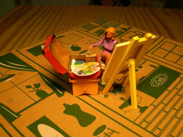 Modell-Gewächshaus von DIY HOUSE Sany1238