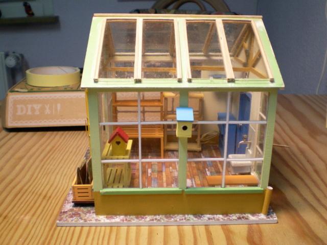 Modell-Gewächshaus von DIY HOUSE Sany1241