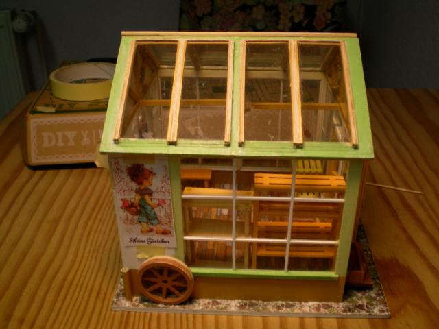 Modell-Gewächshaus von DIY HOUSE Sany1242