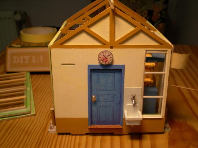 Modell-Gewächshaus von DIY HOUSE Sany1244