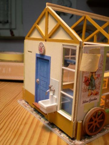Modell-Gewächshaus von DIY HOUSE Sany1245